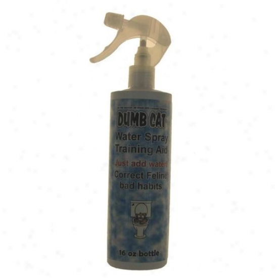 Dumb Cat Water Retraining Aid 16 Oz Sprayer