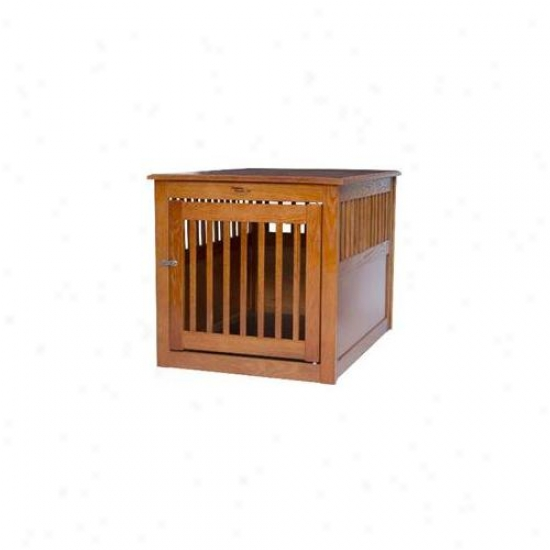 Dynamic Accents 42669 Large End Table Crate - Mechanic Bronze