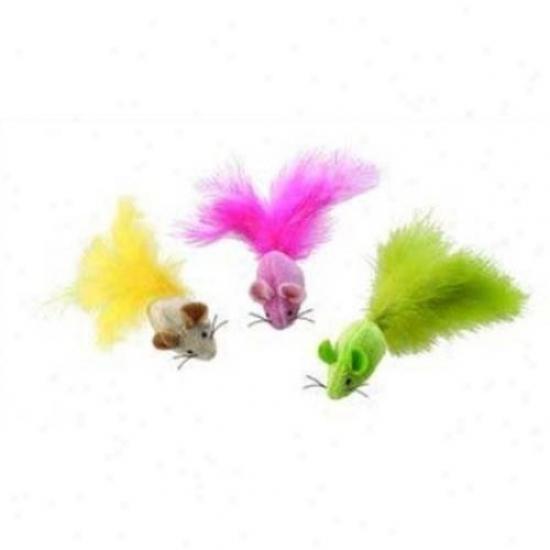 Ethical Cat 2690 Plush Fantastic Feathers