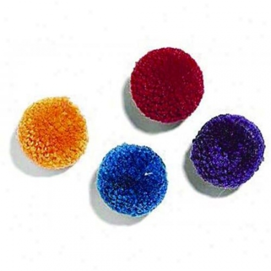 Ethical Cat 2811 Wool Pom Poms With Catnip