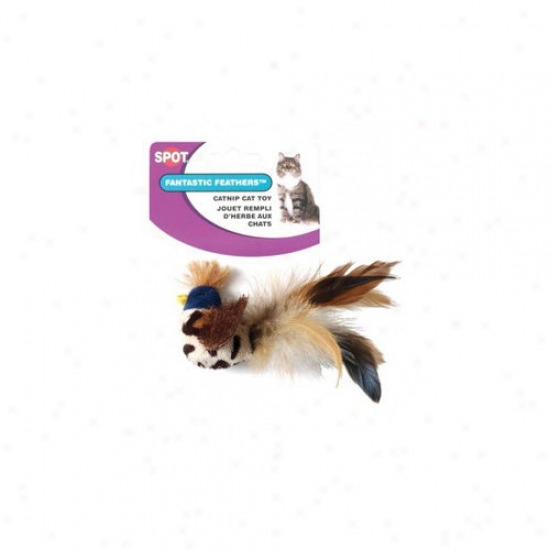 Ethical Pet Feather Mania With Catnip Bird Cat Trifle