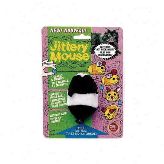 Ethical Pet Plush Jittery Mouse Cat Toy