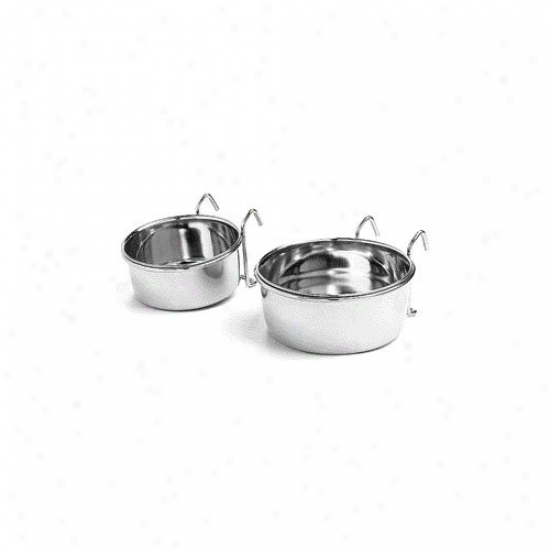 Ethical Pet Stainless Steel Bird Cup With Wire