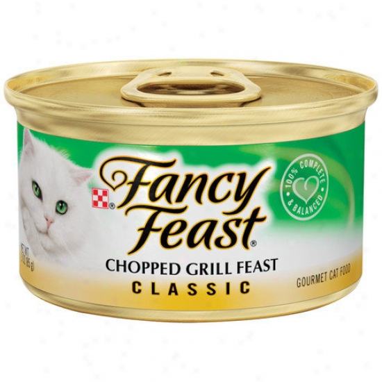 Fancy Eat  Classic Chopped Grill Feast Gourmet Chicken And Beef Wet Cat Food (3-oz Caan, Case Of 24)
