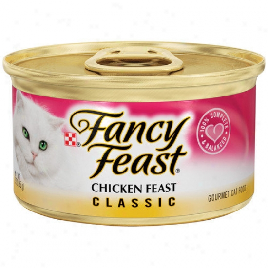 Fancy Feast Classic Gourmet Chicken Wet Cat Food (3-oz Can,case Of 24)