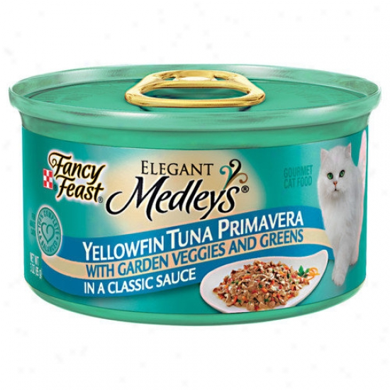 Imagination  Feast Elegant Medlsy Tuna Primavera Cat Food (case Of 24)