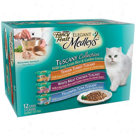 Fancy Feast Graceful Medley Tuscany Collection Cat Food (Box Of 2)