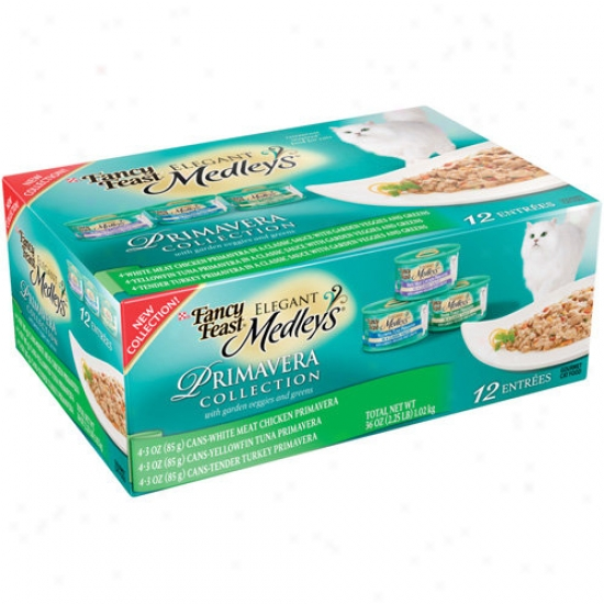 Fancy Frast Elegant Medleys Primavera Collsction Cat Food, 12ct