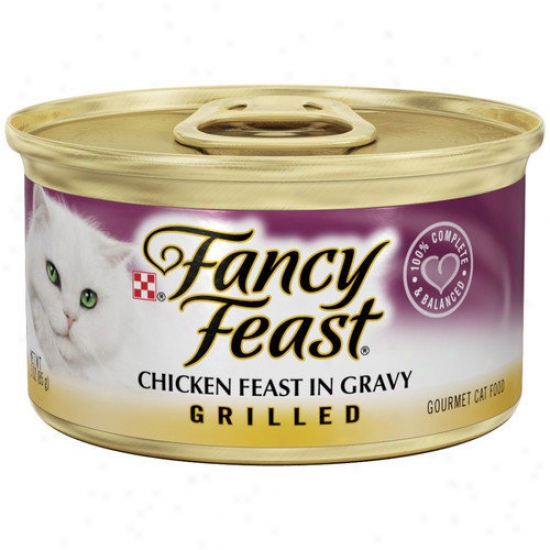 Fancy Feast Grilled Chicken Wet Cat Food (3-oz Can,case Of 24)