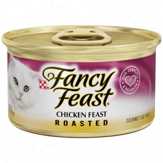 Fancy Feast Roasted Chicken Wet Cat Food (3-oz Can,case Of 24)