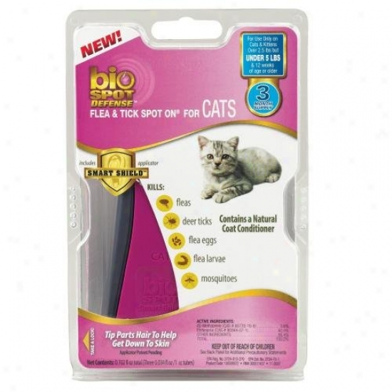 Farnam 100509372 Bio Spot Defense Flea And Tick Spot On For Cats