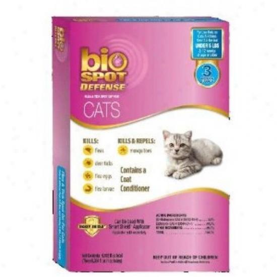 Farnam 100512470 Biospot Defense Probable Flea And Tick Refill For Cat