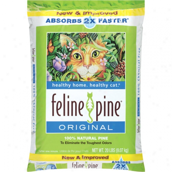Feljne Pine: Original Multi-cat Formula Cat Litter, 20 Lb
