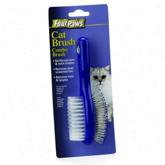 Four Paws 100202063/00676 Cat Combo Brush