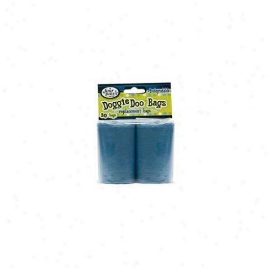 Four Paws Favorite Products Dfp01814 Doggie Doo Biodegradable Bags