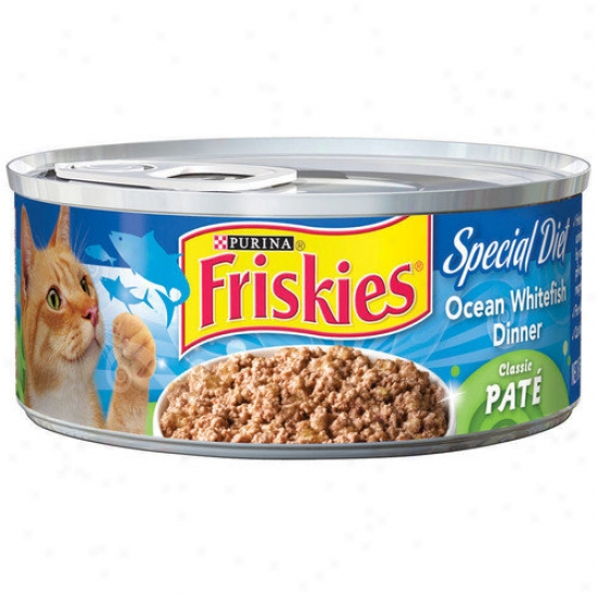 Friskies Classic Pate Special Diet OceanW hitefish Wet Cat Fpod (5.5-oz Can, Case Of 24)