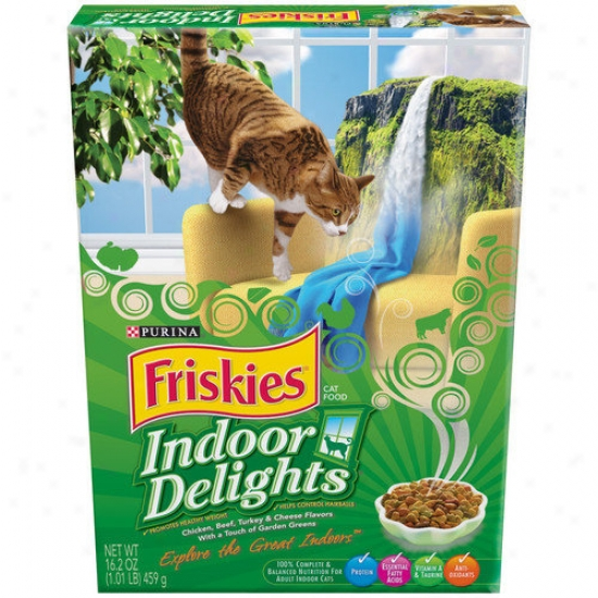 Friskies Indoor Delights Case Dr yCat Food (Suit Of 12)