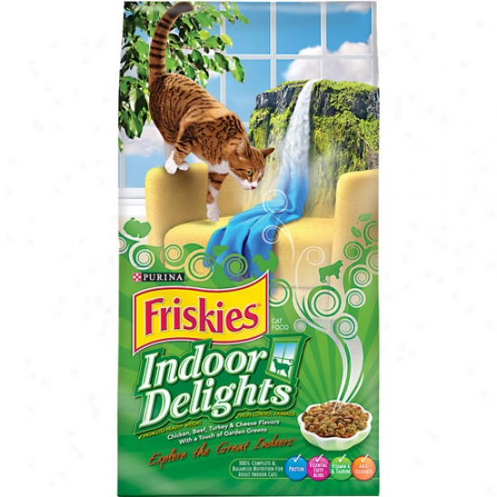 Friskies Indoor Delights Cat Food, 16 Lb
