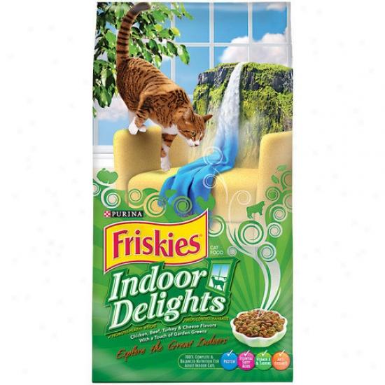 Friskies Indoor Delights Dry Cat Food (16-lb Bag)