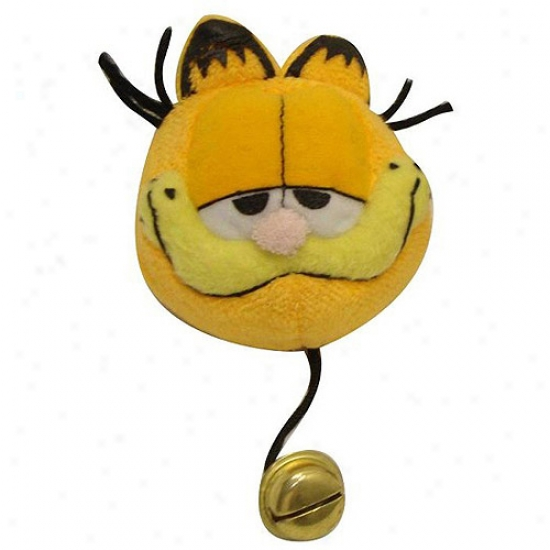 Garfield Plush Toy With Bell