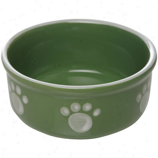 "Gibson Everyday 5.5"" Paw Bowl"