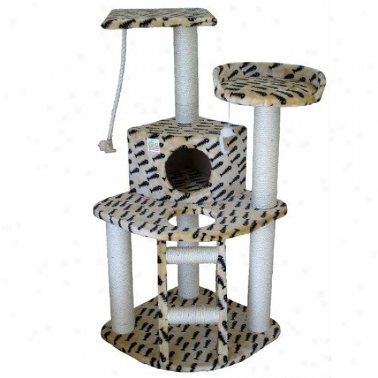 Go Pet Club 47.5'' Faux Fur Cat Tree