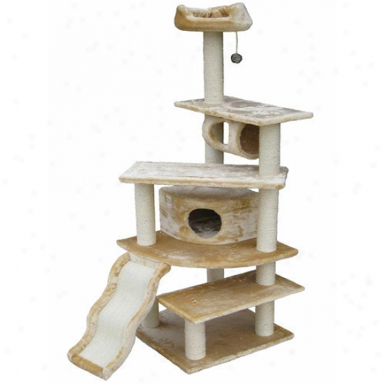 Go Pet Club 70'' Faux Fur Cat Tree