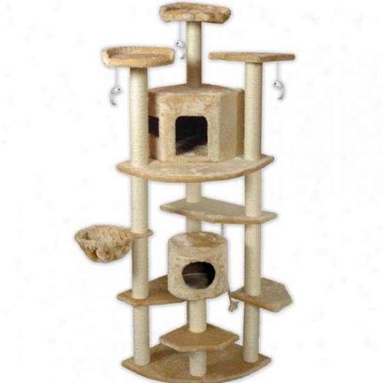 Go Pet Club 80&#O39;' Cat Tree
