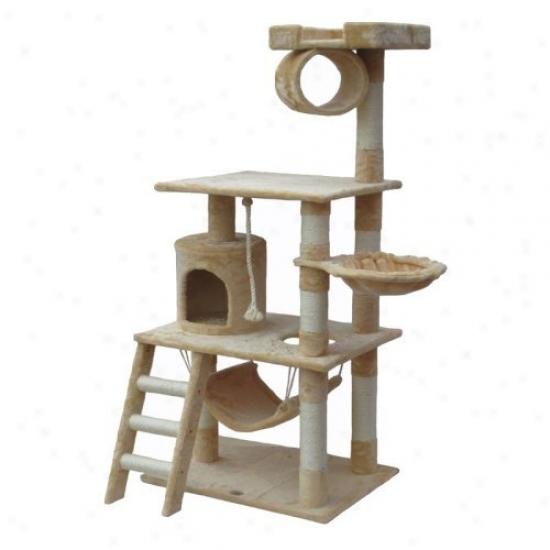 Go Pet Co-operate Cat Tree Funriture 62 In. High