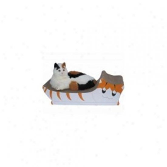 Go Pet Club Cp011 Cat Scratching Board Kitty Design