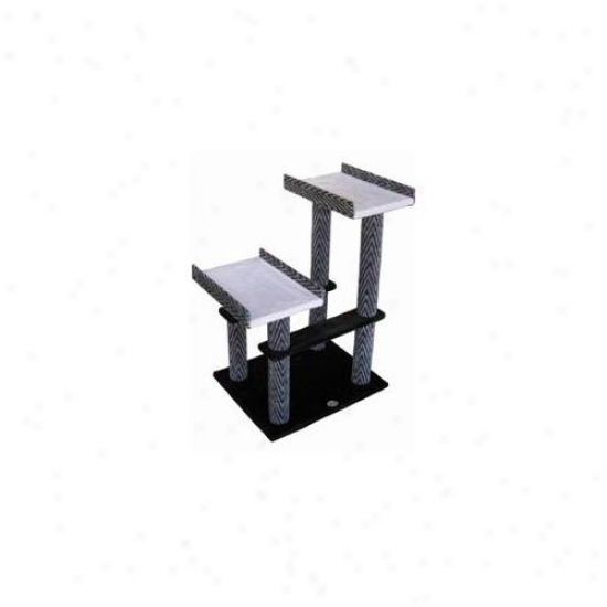 Go Pet Club F40 32 Inch Black-rgey Cat Tree