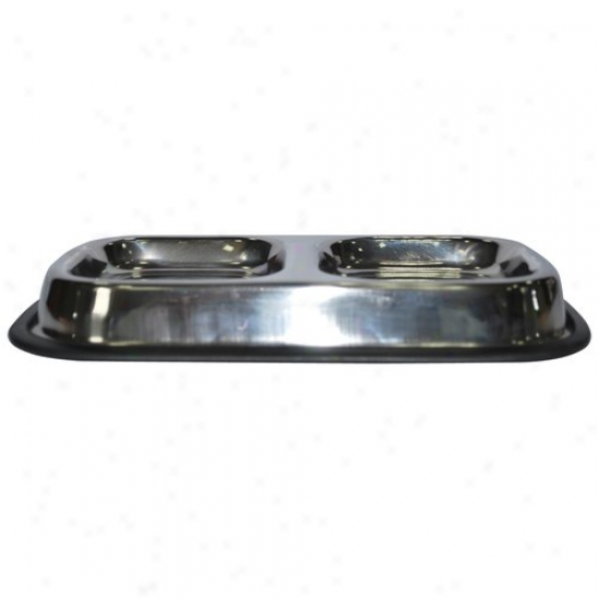 Gofetch Double Diner Cat Food Bowl