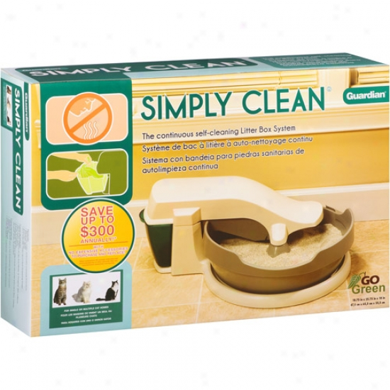 Guardian Simply Clean Litter Box Ststem