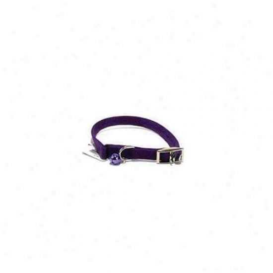Hamilton Pet Company - Braided Safety Cat Collar- Purple 12 X . 38 - 801 Pu