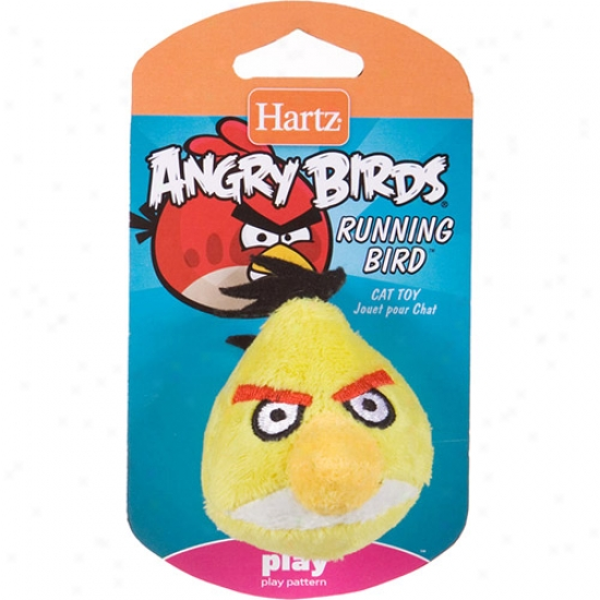 Hartz Angry Birds Running Bird Cat Play, 1ct (character May Vary)