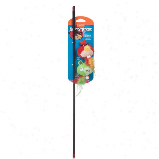 Hartz Angry Birds Wand Cat Toy, 1ct (character May Vary)