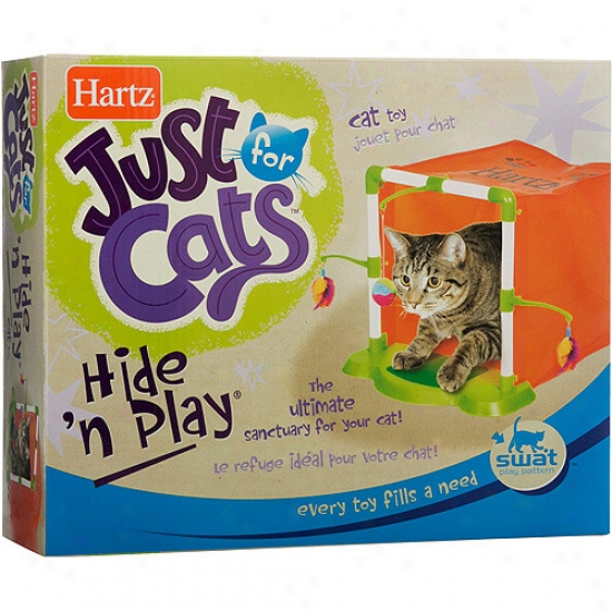Haetz Just For Cats Hide 'n Play Cat Toy
