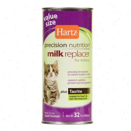 Hartz Precision Nutrition Milk Replacer For Kittens, 32 Fl Oz