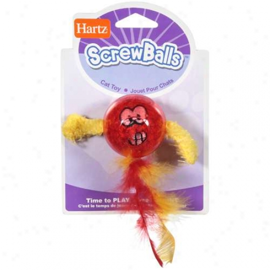 Hartz Screw Ball Cat Toy