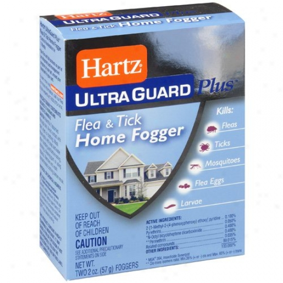 Hartz Ultraguard Plus: Home Fogger Flea & Tivk, 2 Oz