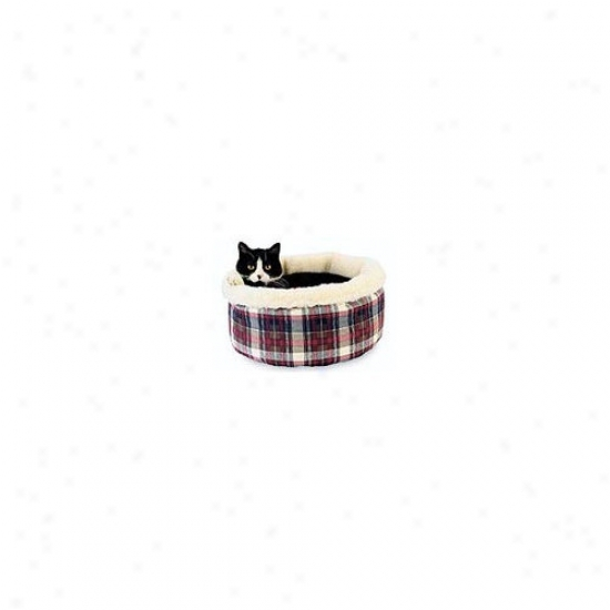 Hidden Valley Products Comfy Curler Cat Bed