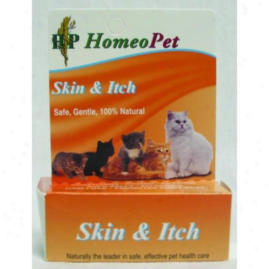 Homeopet 04722 Skin And Itch Feline