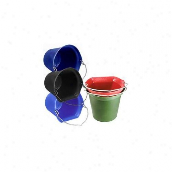 Horsemen S Pride Inc 017 Blue Blue Super Copy Cat Flatback Bucket 20 Quart