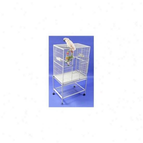 Hq 13221wh Single Aviary - White