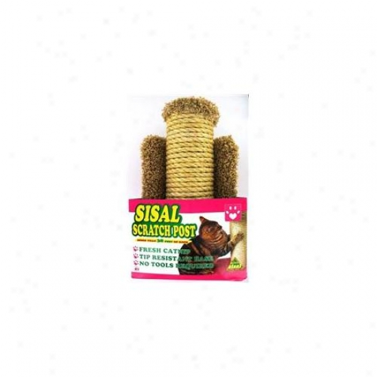 Hula Ho Sisal Scratch Post For Cats  99105