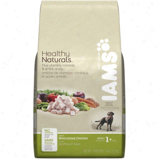 Iams Healthy Naturals Cat Food, Healthy Chicken, 3.2 Lb