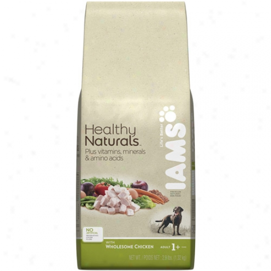 Iams Healthy Naturals Dog Food, Wholesome Chicken, 2.9 Lb
