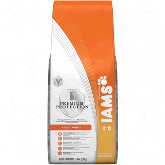 Iams Premium Protectikn Adult Cat Aliment, 4.4 Lb