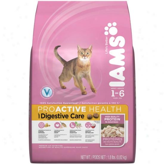 Iams Proactive Health Digestive Care Cat Food, 1.8 Lb