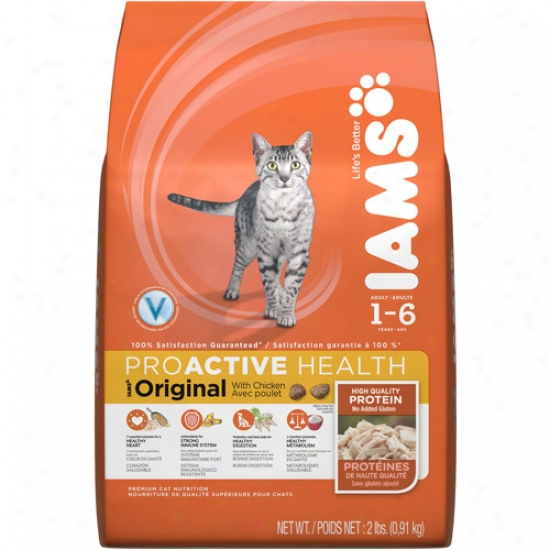 Iams Proactive Health Oddity Cat Food, Chicken, 2 Lb